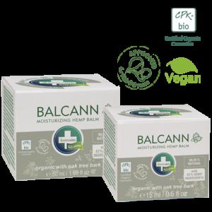 Annabis balcann oak tree bark organic hemp balm