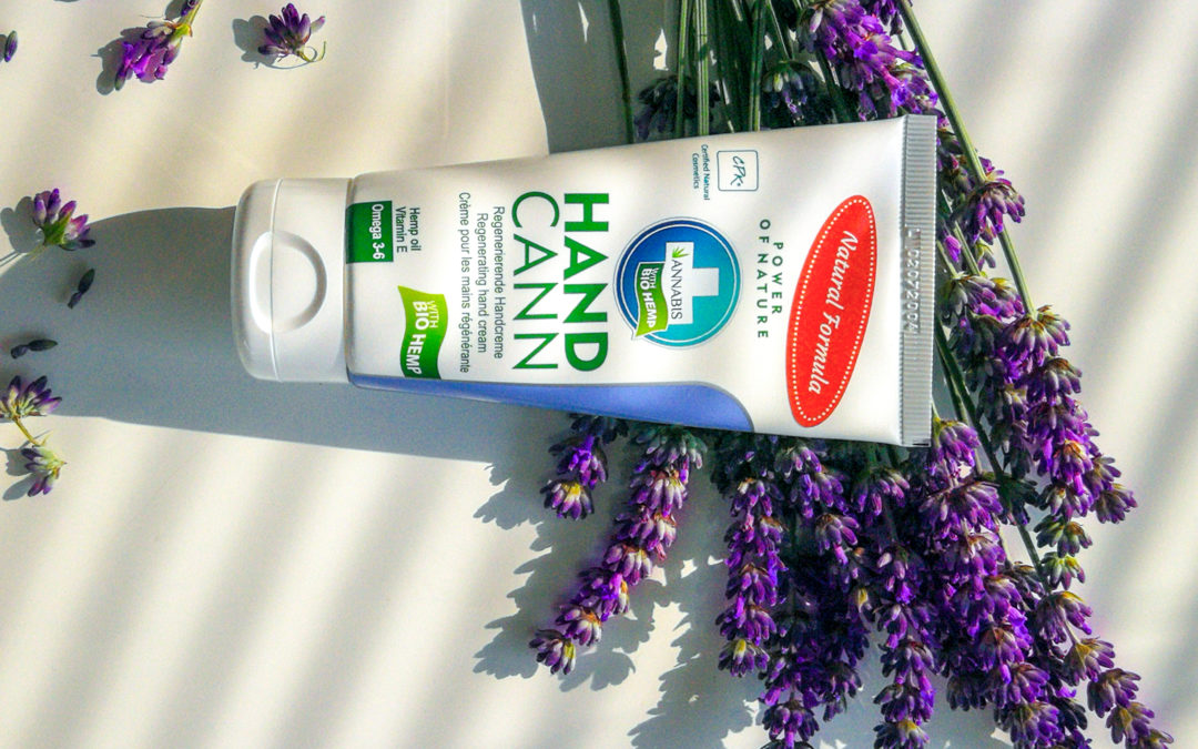 ANNABIS HANDCANN, natural hand cream into every purse